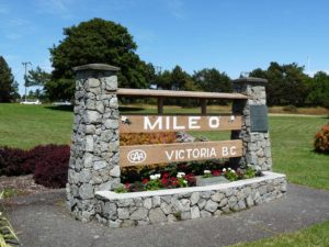 "Mile ""0"" Marker in Victoria, British Columbia"
