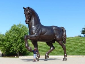 """The American Horse"" von Nina Akamu"