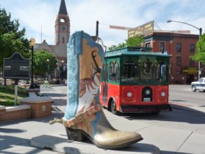 Big Boots in Cheyenne, Wyoming