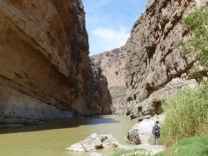 Santa Elena Canyon im Big Bend National Park in Texas