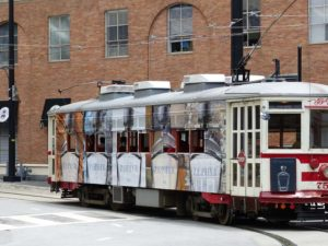 """Trolley"" in Dallas, Texas"