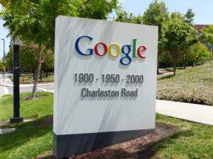 """Google Headquarters """"Googleplex"""" in Mountain View, Kalifornien"""